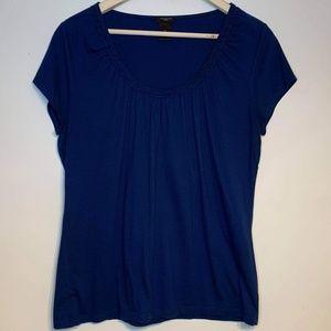 Ann Taylor XL beautiful scoop neck short sleeve